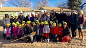 Family Learning Center ground breaking Jan 2016
